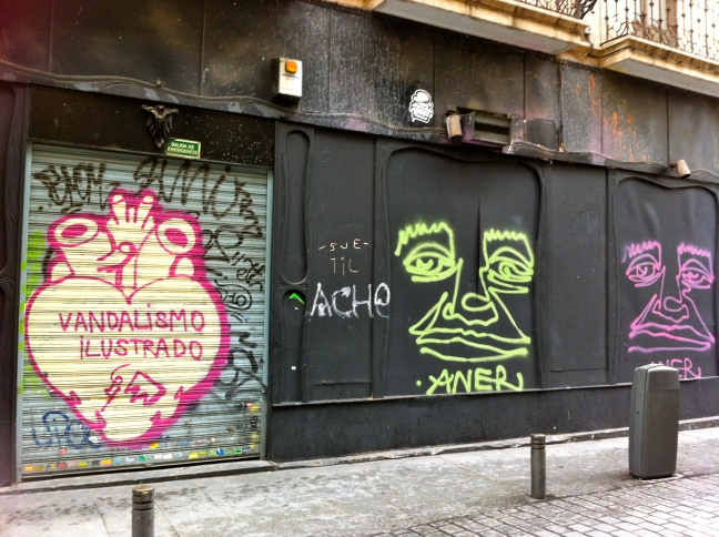 vandalisme kunst