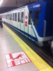 Metro Madrid,Smeken heeft geen zin