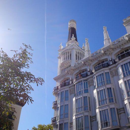 Plaza Santa Ana Madrid, Hotel Melia .